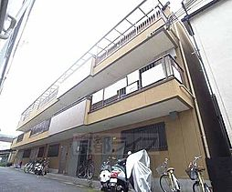 京都府京都市山科区御陵鴨戸町の賃貸マンションの外観