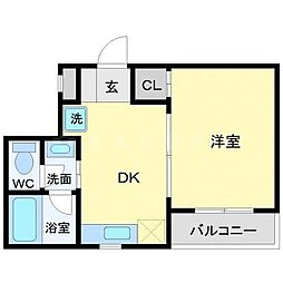 モダナーク[5階]の間取り
