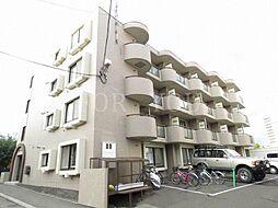 北海道札幌市豊平区月寒西一条10丁目の賃貸マンションの外観