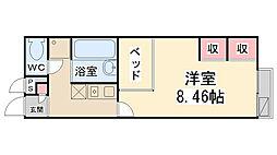 レオパレスAKURAIII[102号室]の間取り