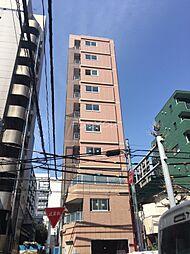 東京都目黒区青葉台2丁目の賃貸マンションの外観