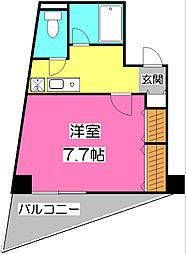 F−GRANDE[4階]の間取り