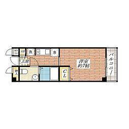 サンピラー茨木by K&I[3階]の間取り
