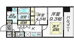 NORTH VILLAGE BIRTH PLACE 本館[8階]の間取り