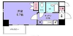 グランシャルム浦安[2階]の間取り