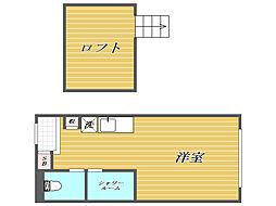 プラチナテラス椎名町[2階]の間取り