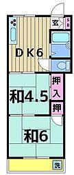 小泉マンション[404号室]の間取り