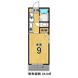 スペースKAZU[203号室]の間取り