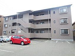 長野県飯田市鼎名古熊の賃貸マンションの外観