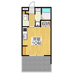 koti桂楽[102号室]の間取り