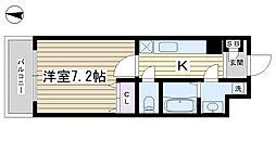 ディアコート東尾久[301号室]の間取り