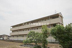 岡山県倉敷市西岡の賃貸マンションの外観