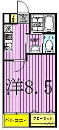 SOLEIL COPAIN〜ソレイユ コパン〜[201号室]の間取り