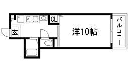 山仁サツキハイツ2[1階]の間取り