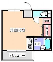 WIN長滝駅前[2階]の間取り