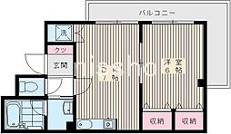 4729−パレスイッセイ[3階]の間取り