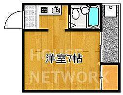 ハイツノジマ[203号室号室]の間取り
