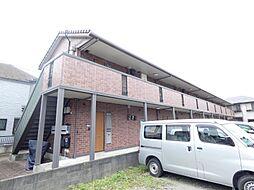 千葉県松戸市松戸新田の賃貸アパートの外観