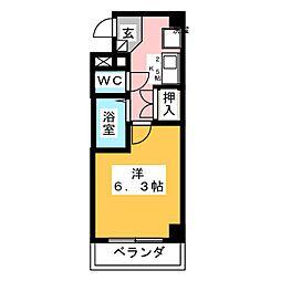ホープ堀田PARTII[2階]の間取り