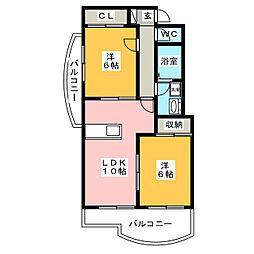 B・INSIDE II[2階]の間取り