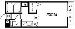 ガーデンフラットI[202号室]の間取り