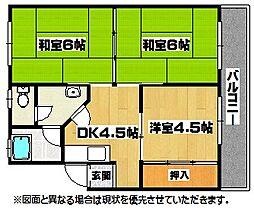 第三白石ビル[5階]の間取り