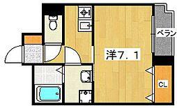メゾン・ソウザ2[1階]の間取り