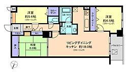 アパガーデンプレイス兼六元町弐番館[2203号室]の間取り