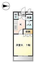 COM's  SATO[105号室]の間取り