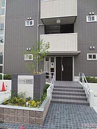 大阪府大阪市住吉区帝塚山西2丁目の賃貸アパートの外観