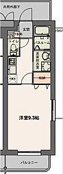 メゾンパークス2[3階]の間取り