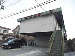 三重県津市高茶屋6丁目の賃貸アパートの外観