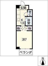 第3クインビル[3階]の間取り