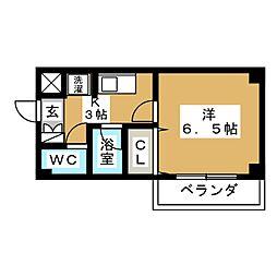 メゾン・ド・ピュア[3階]の間取り