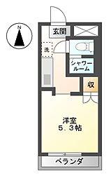 サープラス K−II[2階]の間取り