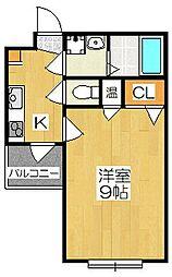メゾン・サクセス[4-E号室]の間取り