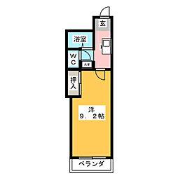 アネックス高蔵寺[2階]の間取り