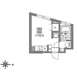 グランレジデンス駒沢大学N[3階]の間取り