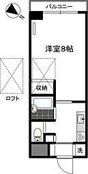 マーベラス弐番館[3階]の間取り