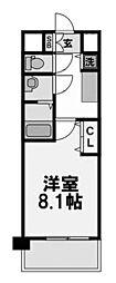 ジュネス新大阪レジデンス[7階]の間取り
