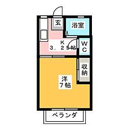 タウン青葉[2階]の間取り