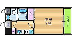 レ・コンフォルト[8階]の間取り