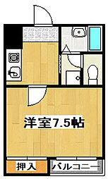 レ・タン・ドゥ・ラ・メールCKIII[1階]の間取り