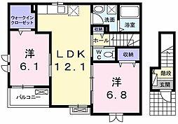 K's Flat[0201号室]の間取り