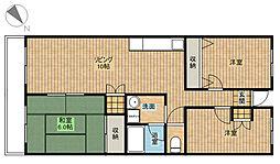 信栄マンション[3階]の間取り