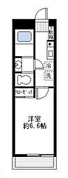 スピカハイツ弘明寺[2階]の間取り