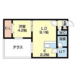 宮の沢駅 5.1万円
