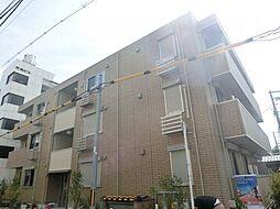 大阪府大阪市東住吉区針中野2丁目の賃貸アパートの外観