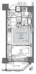 JR総武本線 馬喰町駅 徒歩2分の賃貸マンション 6階1LDKの間取り