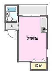 トリル日本橋[4階]の間取り